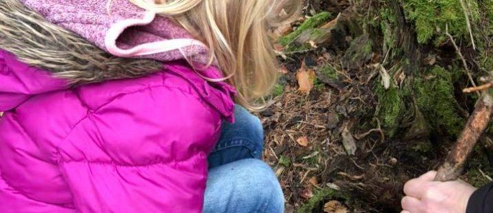 Waldbaden für Kinder