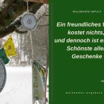 Entdeckung beim Winter-Waldbad