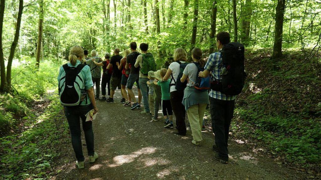 Waldbaden als Event für Gruppen